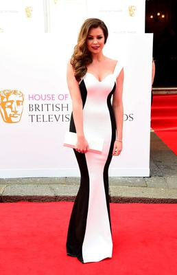 Jessica Wright arrives for the House of Fraser British Academy of Television Awards at the Theatre Royal, Drury Lane in London. PRESS ASSOCIATION Photo. Picture date: Sunday May 10, 2015. See PA story SHOWBIZ Bafta. Photo credit should read: Ian West/PA Wire
