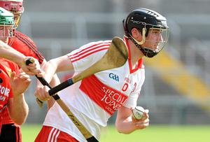 Brendan Rodgers scored twice for Derry against Westmeath