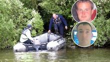 Eoin O'Connor and Anthony Keegan (inset), whose bodies were found on Lough Sheelin