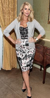 Yvonne Keating at Miriam Ahern's Cari Charity Lunch at The Four Seasons Hotel Dublin.  Pictures:Brian McEvoy