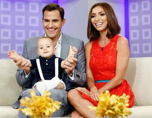 Giuliana and Bill Rancic with their son Duke in 2013