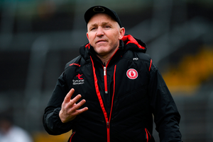 Tyrone manager Paul Devlin. Photo: Oliver McVeigh/Sportsfile