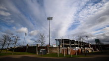 Tallaght Stadium, home of Shamrock Rovers, lies empty and unused along with all the League of Ireland grounds. Photo: Stephen McCarthy/Sportsfile