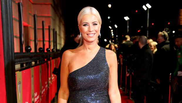 Denise Van Outen was unmasked as Fox (David Parry/PA)