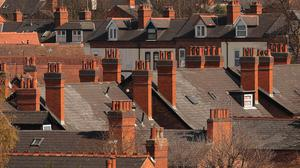 The fall in property prices is the first monthly drop since February