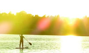 SUP (Stand Up Paddling) with Leitrim Surf.