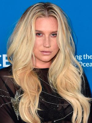 Singer Kesha attends the 'Concert For Our Oceans' hosted by Seth MacFarlane benefitting Oceana at The Wallis Annenberg Center for the Performing Arts on September 28, 2015 in Beverly Hills, California.  (Photo by Alberto E. Rodriguez/Getty Images)