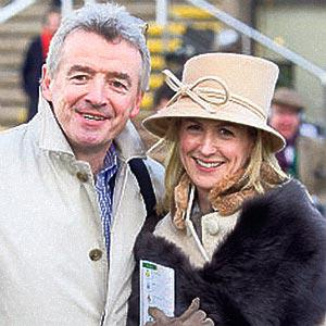 RAGING: Michael O'Leary and wife Anita still receive cheques