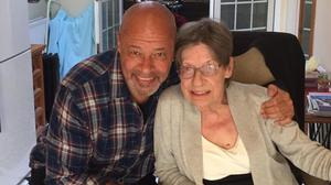 Bond: Paul McGrath and his mother Betty, who has died aged 83