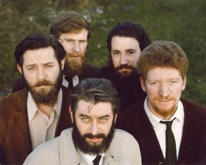 Unseen picture of the Dubliners