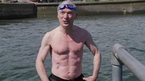 Richard Bruton's abs were compared to those of Russian premier Vladimir Putin and 007 actor Daniel Craig.