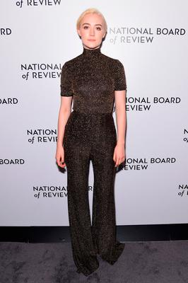 Saoirse Ronan attends the National Board of Review Annual Awards Gala at Cipriani 42nd Street on January 9, 2018 in New York City.  (Photo by Jamie McCarthy/Getty Images for National Board of Review)