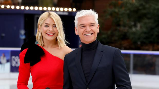 Dancing On Ice presenters Holly Willoughby and Phillip Schofield (David Parry/PA)