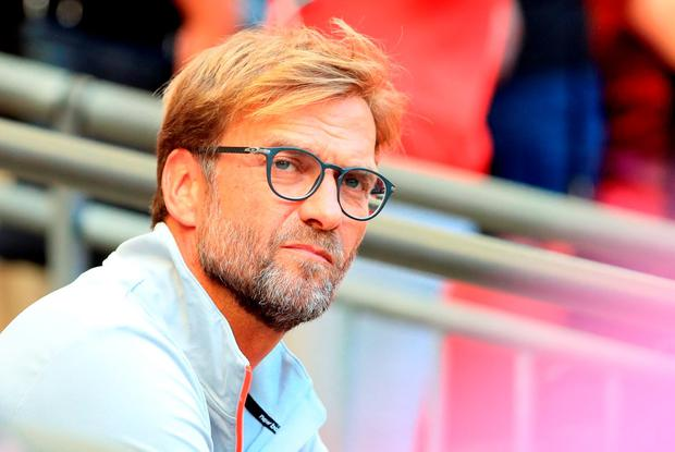 'This pre-season has been the first Klopp has experienced on Merseyside having been parachuted in in October last term during a hectic fixture schedule.' Photo: PA