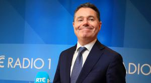 Budget: Finance Minister Paschal Donohoe. Picture Credit: Frank McGrath