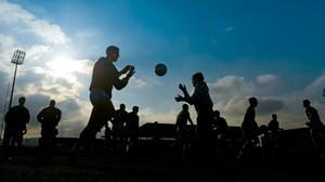 Eyes wide open: For the most part, players train with a county team because they want to. They know what they are getting themselves into. Photo: Sportsfile