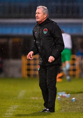 John Caulfield: Demanding more. Photo by David Maher/Sportsfile