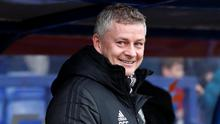 """Solskjaer: """"We've just got to stay together and keep working."""" Photo: Reuters/Andrew Boyers"""