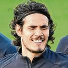 Edinson Cavani. Photo: Bertrand Guay/AFP via Getty Images