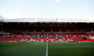 A general view of Manchester United's Old Trafford stadium. Photo: REUTERS
