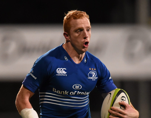 There are six personnel changes to the side who eased to victory over Ealing Trailfinders but with the likes of Billy Dardis, Darragh Fanning (pictured), Steve Crosbie and Nick McCarthy coming into the back-line, coach Hugh Hogan's hand hasn't exactly been weakened (SPORTSFILE)