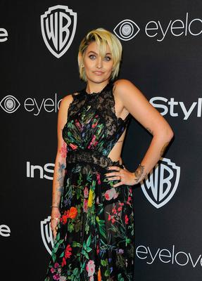 Paris Jackson attends the 18th Post-Golden Globes Party hosted by Warner Bros Pictures and InStyle at the Beverly Hilton Hotel