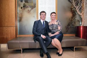 Daniel and Majella O'Donnell at the Bord Gais Energy Irish Book Awards at the Double Tree by Hilton Hotel in Dublin. Picture:Arthur Carron