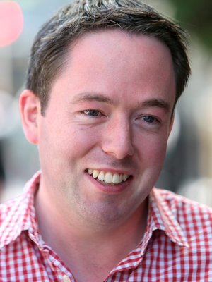 Daft's Ronan Lyons said the outlook for 2016 is healthy Photo: Damien Eagers