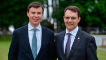 Joseph O'Brien with his father Aiden