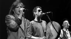 Christmas classic: Kirsty MacColl and Shane MacGowan sang on The Pogues' 1987 track, which is now generating controversy. Photo: Brian Rasic / Rex Features