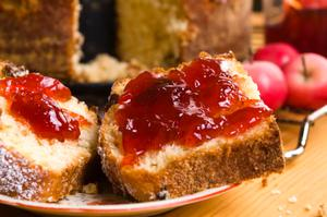 If you use less sugar, you will get a softer set jam.