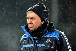 Dublin hurling manager Ger Cunningham: 'He has done it all as a player so he has that authority when he speaks'. Photo: Barry Cregg