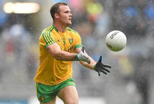 Neil McGee believes a lasting respect for Donegal football has been established after what the county has achieved over the past four years. Photo: Paul Mohan / SPORTSFILE