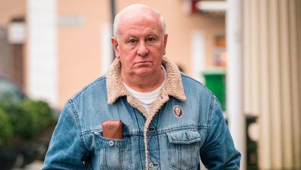 Former Christian Brother Christopher McCarthy, 71 from Newcastle West, Co. Limerick, leaving Castlebar District Court after he was found guilty. Photo : Keith Heneghan