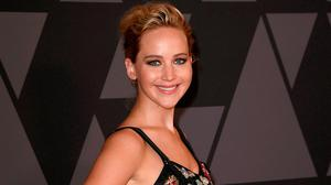 Jennifer Lawrence attends the Academy of Motion Picture Arts and Sciences' 9th Annual Governors Awards at The Ray Dolby Ballroom at Hollywood & Highland Center on November 11, 2017 in Hollywood, California.  (Photo by Kevin Winter/Getty Images)