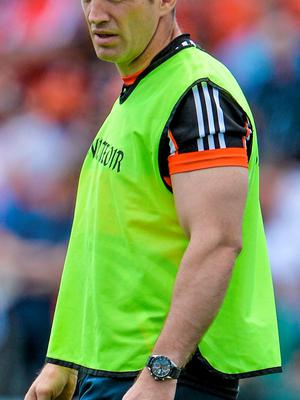 Kieran McGeeney and Armagh suffered a terrible defeat
