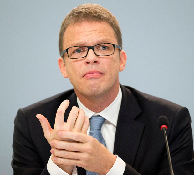 CEO Christian Sewing took over from John Cryan at Deutsche Bank earlier this month