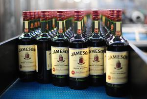 Jameson Whiskey - Pernod-Ricard's star performing drink.