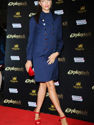 Irina Shayk attends the Playtech launch party at Gilgamesh on February 3, 2015 in London, England.  (Photo by Stuart C. Wilson/Getty Images)