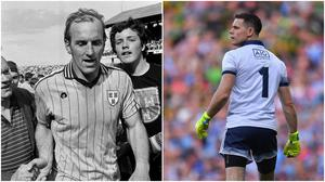 Brian Mullins and Stephen Cluxton have 11 All-Ireland medals between them. Image credit: Sportsfile.