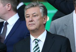 Celtic's Chief Excecutive Peter Lawwell has claimed that his club could potentially be the biggest in the world. Photo credit: Ian MacNicol/Getty Images