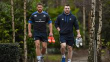 Either Sean O'Brien or Cian Healy will be left out of Leinster's European squad