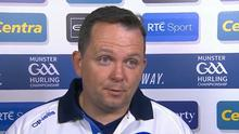 Davy Fitzgerald gave a very awkward interview on The Sunday Game