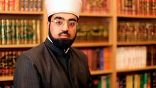 DISGUSTED: Dr Umar Al-Qadri has condemned Islamophobes who planted Isil flyers. Photo: Gerry Mooney