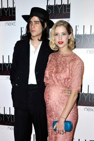 LONDON, ENGLAND - FEBRUARY 11:  Thomas Cohen and Peaches Geldof attend the Elle Style Awards at The Savoy Hotel on February 11, 2013 in London, England.  (Photo by Gareth Cattermole/Getty Images)