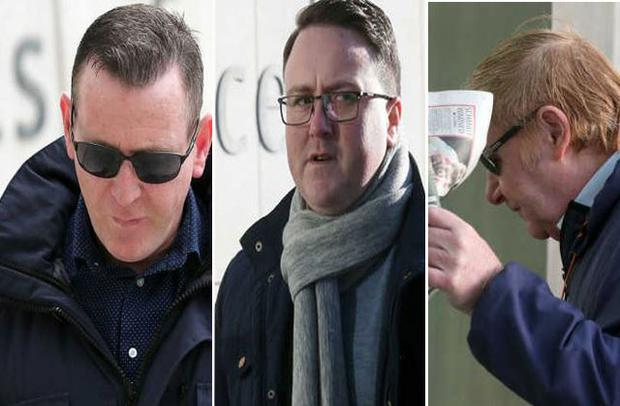 David Byrne (45), Niall Byrne (36) and Christopher Corcoran (71) were convicted by a Dublin Circuit Criminal Court jury