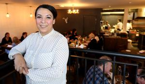 Offering value: Sandy Sabek, co-owner of Forest Avenue, says the D4 restaurant is nearly booked out for Christmas. Photo: Gerry Mooney