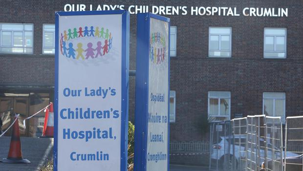 Standoff: Consultants Dr Paul Moran and Prof Donal O'Shea say their concerns about clinical care at the programme in Crumlin's Children's Hospital have been surpressed by the HSE. Photo: Damien Eagers