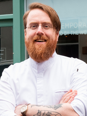 Chef JP McMahon says buying vegetables can be as expensive as buying meat