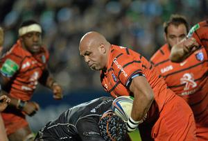 Gurthro Steenkamp of Toulouse against Connacht in this year's Heineken Cup